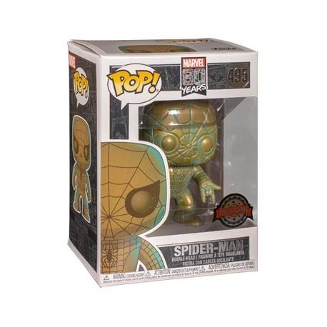 Figur Pop! Marvel 80th Anniversary Spider-Man Patina Limited Edition Funko Online Shop Switzerland