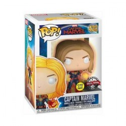Figur Pop! Glow in the Dark Marvel Captain Marvel with Glowing hands Limited Edition Funko Online Shop Switzerland