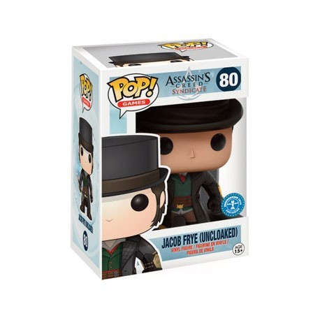 Figur Pop! Games Assassins Creed Jacob Frye Uncloaked Limited Edition Funko Online Shop Switzerland