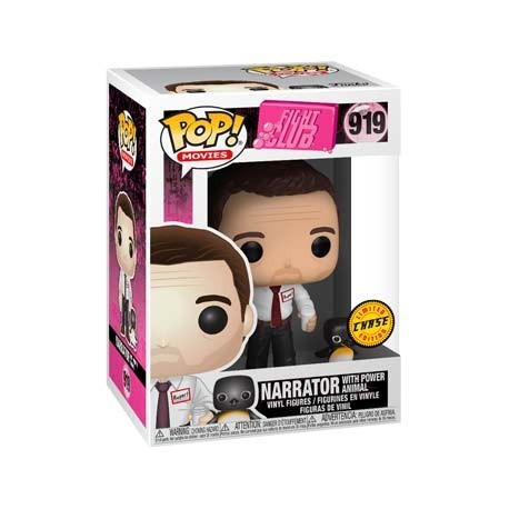 Figur Pop! Fight Club Narrator with Power Animal Chase Limited Edition Funko Online Shop Switzerland