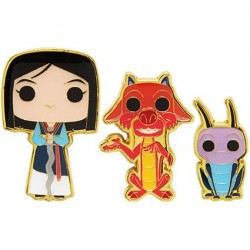 Pop! Pins Disney Mulan Mushu & Cri-Kee Limited Edition