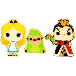 Figurine Pop! Pins Disney Alice In Wonderland Alice Queen Of Hearts & Hedgehog Edition Limitée Funko Boutique en Ligne Suisse