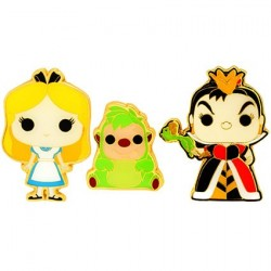 Figur Pop! Pins Disney Alice In Wonderland Alice Queen Of Hearts & Hedgehog Limited Edition Funko Online Shop Switzerland