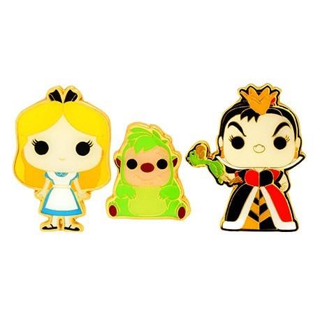 Figur Pop! Pins Disney Alice In Wonderland Alice Queen Of Hearts & Hedgehog Limited Edition Funko Online Shop Switzerland