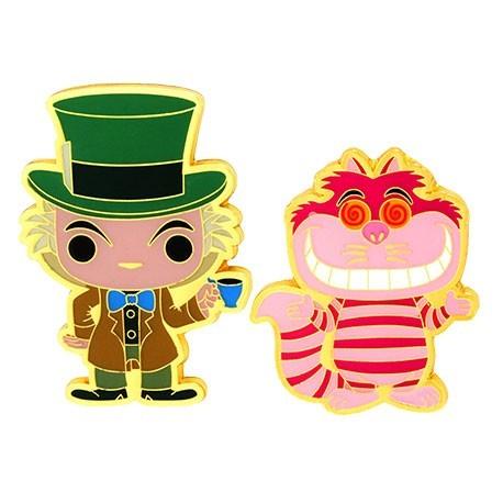 Figur Pop! Pins Disney Alice In Wonderland Mad Hatter & Cheshire Cat Limited Edition Funko Online Shop Switzerland