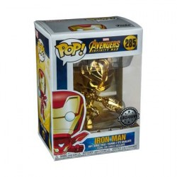 Figurine Pop! Iron Man Gold Chrome Edition Limitée Funko Boutique en Ligne Suisse
