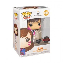 Pop! Diamond Overwatch D.Va Glitter Limited Edition