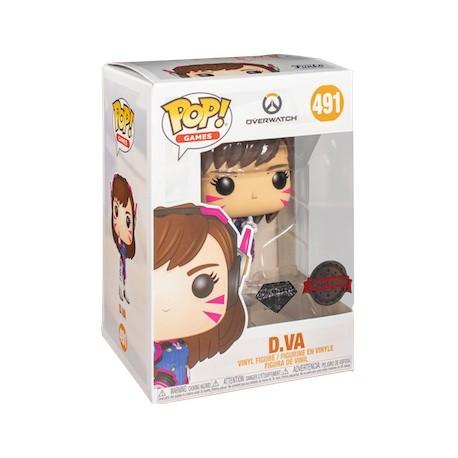 Figur Pop! Diamond Overwatch D.Va Glitter Limited Edition Funko Online Shop Switzerland
