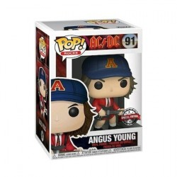 Pop! Rock AC/DC Angus Young with Red Jacket Limited Edition