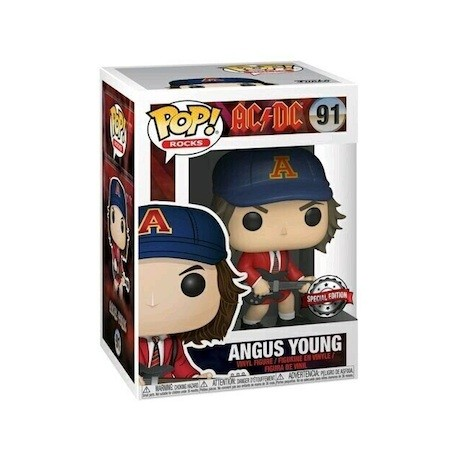 Figur Pop! Rock AC/DC Angus Young with Red Jacket Limited Edition Funko Online Shop Switzerland