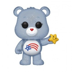 Pop! Care Bears America Cares Bear Glitter Limited Edition (without Sticker)