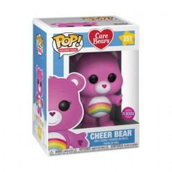 Figurine Pop! Floqué Bisounours Cheer Bear Edition Limitée Funko Boutique en Ligne Suisse