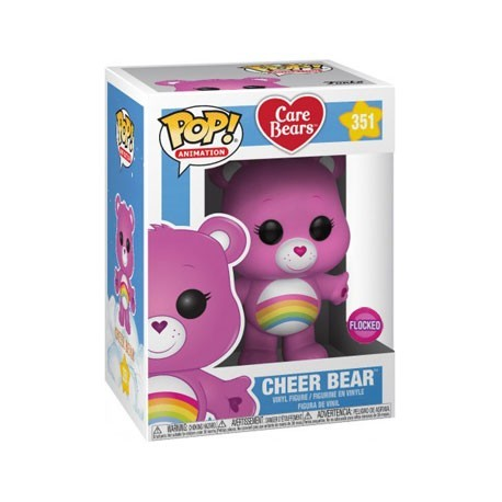 Figur Pop! Flocked Care Bears Cheer Bear Limited Edition Funko Online Shop Switzerland