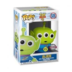 Figurine Pop! Phosphorescent Disney Toy Story 4 Alien Edition Limitée Funko Boutique en Ligne Suisse