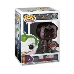 Figurine Pop! DC Comics The Joker Chrome Noir Edition Limitée Funko Boutique en Ligne Suisse
