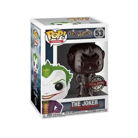 Figur Pop! DC Comics The Joker Chrome Black Limited Edition Funko Online Shop Switzerland