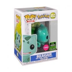 Figurine Pop! ECCC 2020 Floqué Pokemon Bulbasaur Edition Limitée Funko Boutique en Ligne Suisse