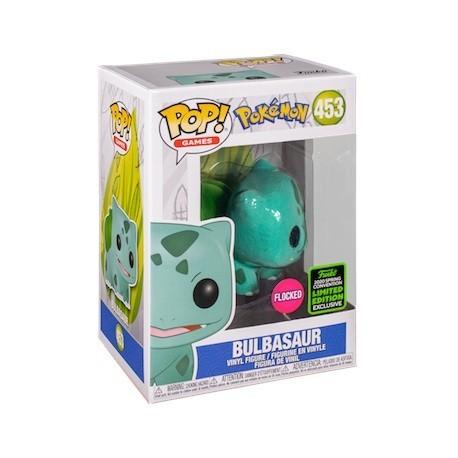 Figur Pop! ECCC 2020 Flocked Pokemon Bulbasaur Limited Edition Funko Online Shop Switzerland