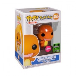 Figurine Pop! ECCC 2020 Floqué Pokemon Charmander Edition Limitée Funko Boutique en Ligne Suisse