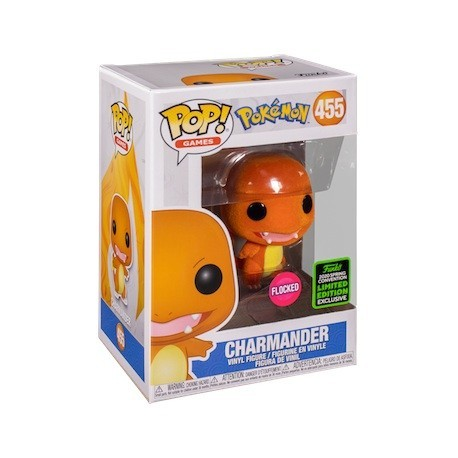 Figur Pop! ECCC 2020 Flocked Pokemon Charmander Limited Edition Funko Online Shop Switzerland