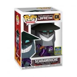 Figurine Pop! SDCC 2020 Samurai Jack Scaramouche Edition Limitée Funko Boutique en Ligne Suisse