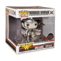 Figurine Pop! Deluxe Wonder Woman Jim Lee Noir et Blanc Edition Limitée Funko Boutique en Ligne Suisse