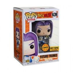 Figurine Box Dragon Ball Z Pop Metallique Future Trunks Chase Edition Limitée Funko Boutique en Ligne Suisse