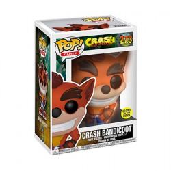 Figurine Pop! Phosphorescent Crash Bandicoot Edition Limitée Funko Boutique en Ligne Suisse