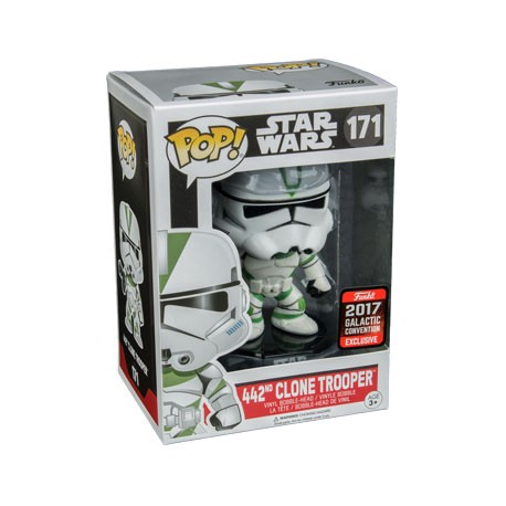 Figur Pop! Galactic Convention 2017 Star Wars 442nd Clone Trooper Limited Edition Funko Online Shop Switzerland