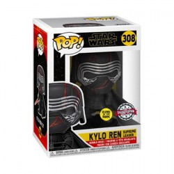 Pop! Glow in the Dark Star Wars The Rise of Skywalker Supreme Leader Kylo Ren Limited Edition