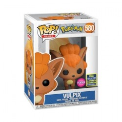 Pop! SDCC 2020 flocked Vulpix Limited Edition