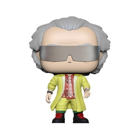 Figur Pop! Back To The Future Part II Dr. Emmett Brown Funko Online Shop Switzerland