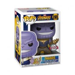 Figurine Pop! Métallique Marvel Avengers Infinity War Thanos Edition Limitée Funko Boutique en Ligne Suisse