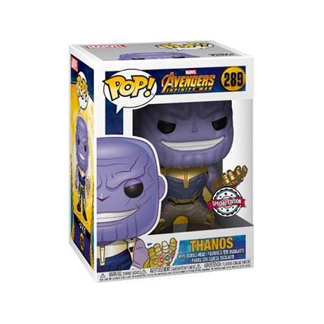 Figur Pop! Metallic Marvel Avengers Infinity War Thanos Limited Edition Funko Online Shop Switzerland
