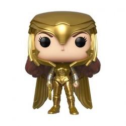 Figurine Pop! Wonder Woman 1984 Wonder Woman Gold Armour Power Pose Funko Boutique en Ligne Suisse