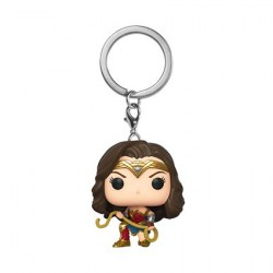 Pop! Pocket Keychains Wonder Woman 1984 with Lasso