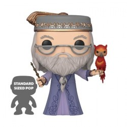 Figur Pop! 25 cm Harry Potter Dumbledore with Fawkes Funko Online Shop Switzerland