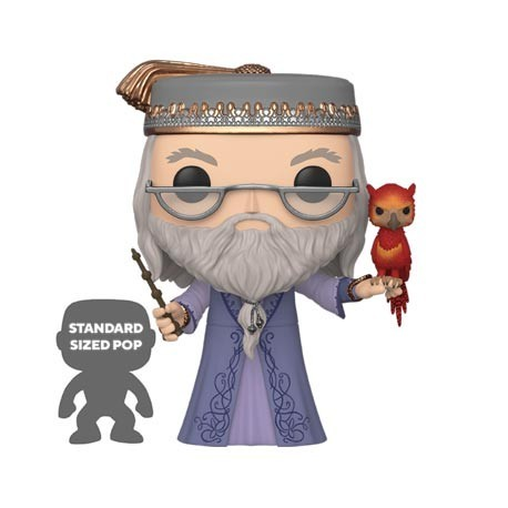 Figur Pop! 25 cm Harry Potter Dumbledore with Fawkes Funko Online Shop Switzerland