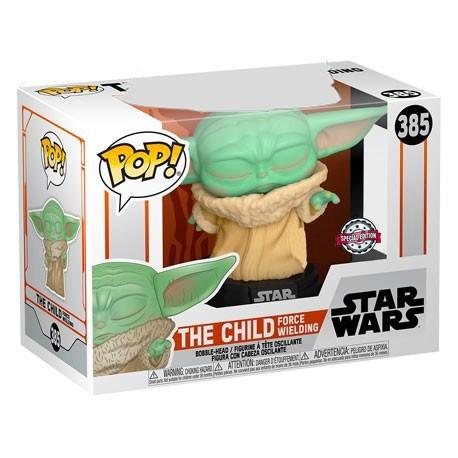 Figur Pop! Star Wars The Mandalorian The Child Force Wielding (Baby Yoda) Limited Edition Funko Online Shop Switzerland