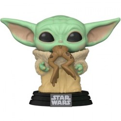 Figuren Pop! Star Wars The Mandalorian The Child mit Flosch (Baby Yoda) Funko Online Shop Schweiz