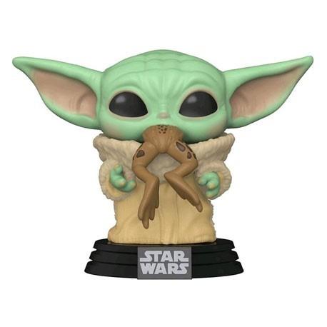 Figur Pop! Star Wars The Mandalorian The Child with Frog (Baby Yoda) Funko Online Shop Switzerland