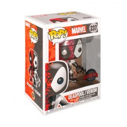 Figur Pop! Metallic Marvel Venom Venomized Deadpool Limited Edition Funko Online Shop Switzerland