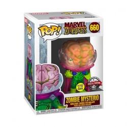 Figurine Pop! Phosphorescent Marvel Zombies Mysterio Zombie Edition Limitée Funko Boutique en Ligne Suisse