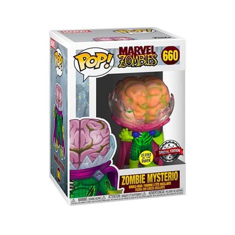 Figur Pop! Glow in the Dark Marvel Zombies Mysterio Zombie Limited Edition Funko Online Shop Switzerland