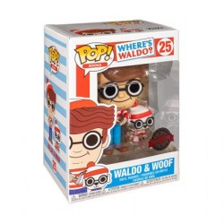 Figur Pop! Where's Waldo? Wally with Woof Limited Edition Funko Online Shop Switzerland