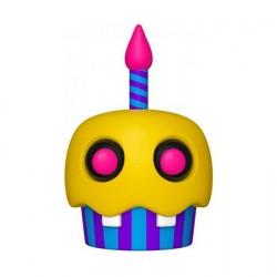 Figurine Pop! Games FNAF BlackLight Cupcake (Rare) Funko Boutique en Ligne Suisse