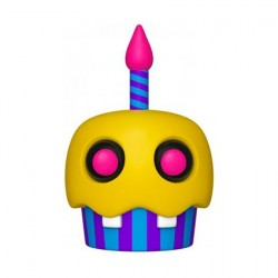 Pop! Games FNAF BlackLight Cupcake (Rare)