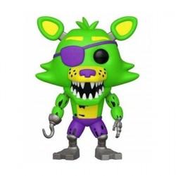Figurine Pop! Games FNAF BlackLight Foxy (Rare) Funko Boutique en Ligne Suisse