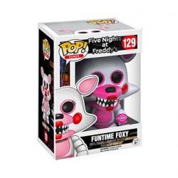 Figurine Pop! Floqué Games FNAF Sister Location Funtime Foxy Edition Limitée Funko Boutique en Ligne Suisse