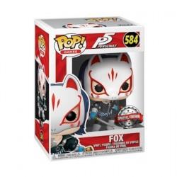 Figurine Pop! Persona 5 Fox Edition Limitée Funko Boutique en Ligne Suisse